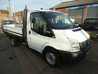 2012 '12' FORD TRANSIT 2.2 TDCI T300 CHASSIS CAB DROPSIDE