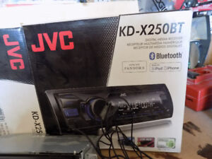 JVC Car Audio with Blue Tooth