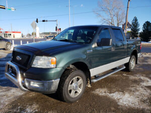 2005 F-150 XLT Supercrew * 4x4 * Spray liner * Pipes * Tow pkg.*