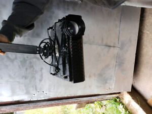 Projector with screen l.e.d HD