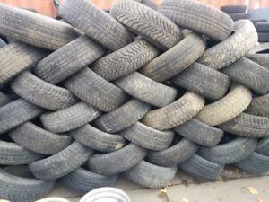 pneus usages hiver en lot 13'' 14'' 15'' 16'' 17'' 18'' 19'' 20'