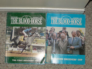 Blood Horse Magazines - triple crown issues etc Strathcona County Edmonton Area image 2