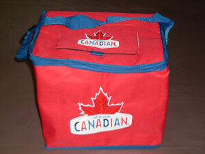 Molson Canadian Insulated Cooler Bag W/Trapdoor *NEW*