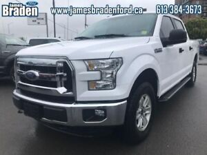 2016 Ford F-150 XLT  - Trade-in - Local - One owner - $223 B/W