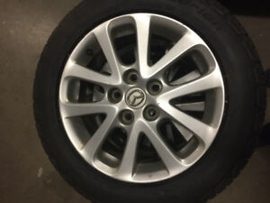 Brand New 205/55/16 Tires and Alloy Rims
