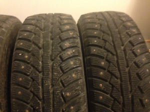 4 Winter Studded Tires For Sale