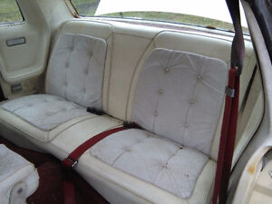 T roof Chrysler Cordoba with leather bag for T Roof
