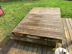 Two 5 x 8 Decks for Sale