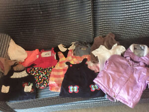 girls clothing for 18m-2 y