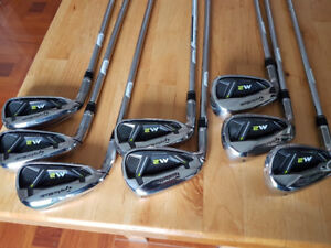 Mens 2017 Left Hand Taylor Made M2 Irons