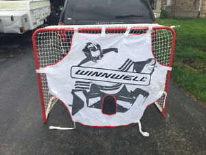"60"" hockey or Lacrosse net with shooter tutor"