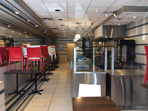 Restaurant Space Available Now In Ville St. Laurent!