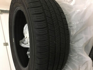 3 tires used for one week ($100 total)