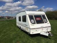 (8) 2000 SWIFT CLASSIC BARONET - 4 BERTH - SINGLE AXLE TOURING CARAVAN