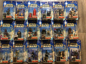 Huge lot of Star Wars action figures from AoTC and RotS.
