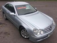 MERCEDES CLK 200 KOMPRESSOR 1.8 ELEGANCE £36 WEEK LEATHER CRUISE COUPE 2007
