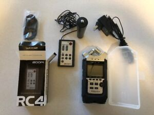 Zoom H4N Pro w/ all optional accessories