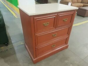 **Marble Top Chest, Swivel Top Chest/TV Stand - HILTON - $50 **
