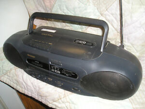 Portable Stereo )SHARP)