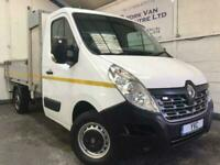 2016 16 RENAULT MASTER 9 FOOT ALLOY DROPSIDE ML35 BUSINESS TOOL STORE, AIR CON