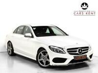 2017 Mercedes-Benz C Class C250d AMG Line 4dr 9G-Tronic Auto Saloon Diesel Autom