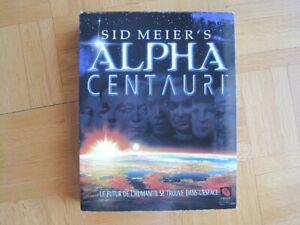 Jeux PC: SID MEIER'S ALPHA CENTAURI / MYSTÈRES LOUXOR / HEROES C