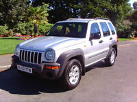 Stunning Ultra Low Mileage Jeep Cherokee 2.5 CRD Sport Drives Beautifully