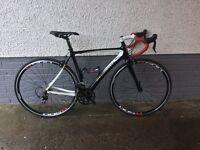 Men's Road Bike Ideal for Sportives Peugeot CR01 Full Carbon Medium Frame