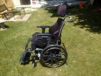 wheelchair NEW PRICE 500