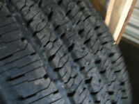 4 FIRESTONE HT  E RATED TIRES LIKE NEW
