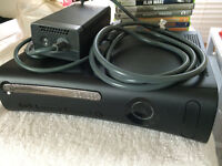 Xbox 360 with games $125