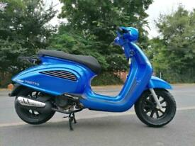Brand new AJS Insetto 125 retro modern classic scooter moped learner legal