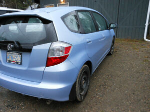 2010 Honda Fit Hatchback Prince George British Columbia image 4