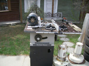 Rockwell Table saw/ heaters $20.00each