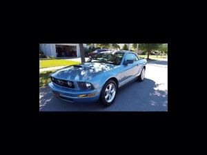2007 Ford Mustang V6-Convertible-Pony Package-Leather-Alloys