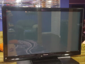 """50"""" Panasonic Flat Screen with Wall Mount Included"""