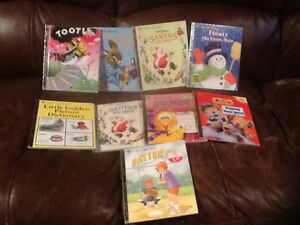 Assorted Golden Books