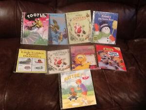 Assorted Golden Books