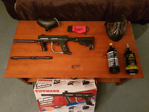 Upgraded Tippmann 98 custom full kit