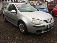 2004 VOLKSWAGEN GOLF 1.6 S FSI AUTOMATIC 5 DOOR