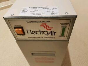 Electro Air Electronic Air Cleaner incl. Cells, Filters, Wiring