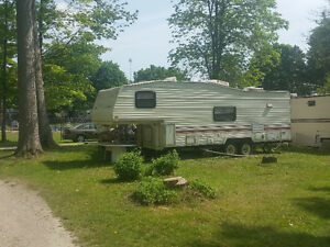Trailer For Sale 1993 27ft Terry - Park Haven Lake - Innerkip