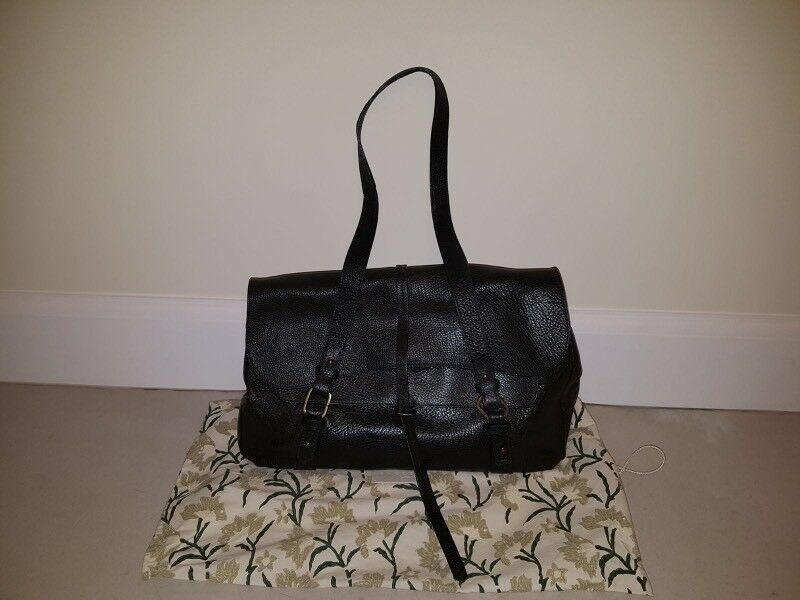 Radley black leather handbag