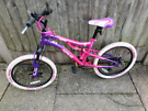 Girls 20inch bike