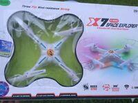 XMAS PREZZIE: 2MP QUADCOPTER DRONE