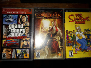 3 PSP Games for Sale  $10 obo