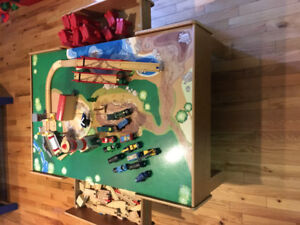 Thomas the Train Play Table, Trains, Tracks and more