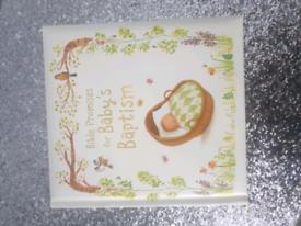 Babies baptism book