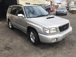 JDM Subaru Forester Turbo 2000