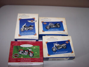 8 Hallmark HARLEY DAVIDSON pieces - all new in package